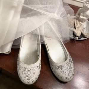 Girls formal shoes size 1